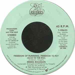 Demis Roussos - Freedom Of Running, Freedom To Fly (Race To The End) Album